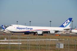 SHOさんが、成田国際空港で撮影した日本貨物航空 747-8KZF/SCDの航空フォト(飛行機 写真・画像)