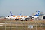 SHOさんが、成田国際空港で撮影した全日空 777-381/ERの航空フォト(写真)
