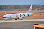 md11jbirdさんが、熊本空港で撮影したチャイナエアライン 737-8FHの航空フォト(写真)