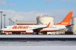 セブンさんが、新千歳空港で撮影したチェジュ航空 737-8FHの航空フォト(飛行機 写真・画像)