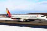 セブンさんが、新千歳空港で撮影したアシアナ航空 A321-231の航空フォト(飛行機 写真・画像)