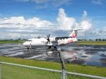 くーぺいさんが、喜界空港で撮影した日本エアコミューター ATR-42-600の航空フォト(写真)