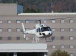 そら33さんが、広島空港で撮影した高橋ヘリコプターサービス AS350B Ecureuilの航空フォト(飛行機 写真・画像)