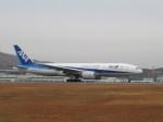 そら33さんが、広島空港で撮影した全日空 777-281/ERの航空フォト(飛行機 写真・画像)