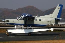 MOR1(新アカウント)さんが、笠岡ふれあい空港で撮影したせとうちSEAPLANES Kodiak 100の航空フォト(写真)