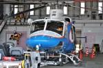 ケツメイシ宮崎~KMIさんが、宮崎空港で撮影した宮崎県防災救急航空隊 412EPの航空フォト(写真)