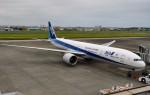 ケツメイシ宮崎~KMIさんが、宮崎空港で撮影した全日空 777-381/ERの航空フォト(写真)
