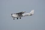 神宮寺ももさんが、高松空港で撮影した大阪航空 172R Skyhawkの航空フォト(写真)