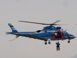 ここはどこ?さんが、札幌飛行場で撮影した北海道警察 A109E Powerの航空フォト(写真)