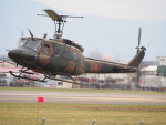 ここはどこ?さんが、札幌飛行場で撮影した陸上自衛隊 UH-1Jの航空フォト(写真)