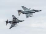 NOCKsさんが、茨城空港で撮影した航空自衛隊 F-4EJ Kai Phantom IIの航空フォト(写真)