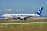 ちゃぽんさんが、岩国空港で撮影した全日空 767-381/ERの航空フォト(飛行機 写真・画像)