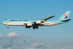 Tomo-Papaさんが、成田国際空港で撮影した大韓航空 747-8B5F/SCDの航空フォト(写真)