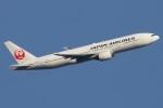 たみぃさんが、新千歳空港で撮影した日本航空 777-289の航空フォト(写真)