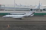 ハム太郎。さんが、羽田空港で撮影した650 NB LLC  G650 (G-VI)の航空フォト(写真)