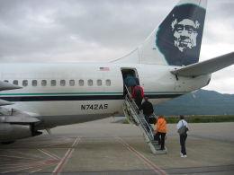 BOSTONさんが、ランゲル空港で撮影したアラスカ航空 737-290C/Advの航空フォト(飛行機 写真・画像)