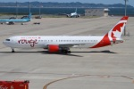 rjジジィさんが、中部国際空港で撮影したエア・カナダ・ルージュ 767-375/ERの航空フォト(写真)
