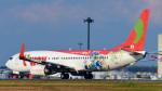 パンダさんが、成田国際空港で撮影したティーウェイ航空 737-8HXの航空フォト(写真)