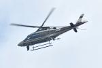 500さんが、自宅上空で撮影した警視庁 A109S Trekkerの航空フォト(写真)