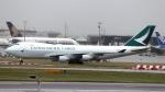 誘喜さんが、ロンドン・ヒースロー空港で撮影したキャセイパシフィック航空 747-467F/ER/SCDの航空フォト(写真)