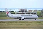 kumagorouさんが、宮古空港で撮影した日本トランスオーシャン航空 737-8Q3の航空フォト(写真)