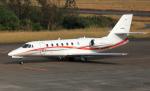 CL&CLさんが、奄美空港で撮影した朝日航洋 680 Citation Sovereignの航空フォト(写真)