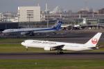 なまくら はげるさんが、羽田空港で撮影した日本航空 767-346/ERの航空フォト(写真)