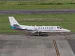 リンリンさんが、名古屋飛行場で撮影した朝日新聞社 560 Citation Encoreの航空フォト(写真)