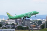 リンリンさんが、名古屋飛行場で撮影したフジドリームエアラインズ ERJ-170-100 SU (ERJ-170SU)の航空フォト(写真)