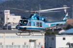 Koenig117さんが、名古屋飛行場で撮影した愛知県警察 412EPの航空フォト(写真)