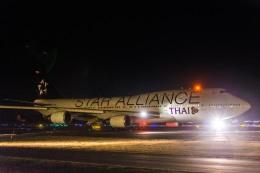 Cygnus00さんが、新千歳空港で撮影したタイ国際航空 747-4D7の航空フォト(写真)