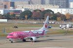 funi9280さんが、福岡空港で撮影した日本トランスオーシャン航空 737-8Q3の航空フォト(飛行機 写真・画像)