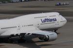 リンリンさんが、羽田空港で撮影したルフトハンザドイツ航空 747-830の航空フォト(写真)