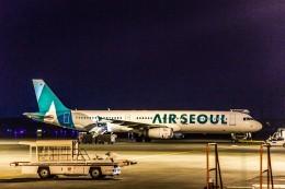 Cygnus00さんが、新千歳空港で撮影したエアソウル A321-231の航空フォト(写真)