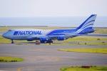 リンリンさんが、中部国際空港で撮影したナショナル・エア・カーゴ 747-428(BCF)の航空フォト(写真)
