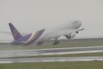 リンリンさんが、中部国際空港で撮影したタイ国際航空 777-3D7/ERの航空フォト(写真)