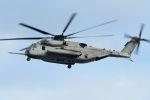 うめやしきさんが、厚木飛行場で撮影したアメリカ海兵隊 CH-53Eの航空フォト(飛行機 写真・画像)