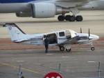 sp3混成軌道さんが、岡山空港で撮影した岡山航空 G58 Baronの航空フォト(写真)
