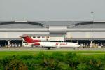 まいけるさんが、スワンナプーム国際空港で撮影したKマイル エア 727-247/Adv(F)の航空フォト(写真)