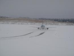 けろんさんが、大館能代空港で撮影したエアーニッポン 737-5L9の航空フォト(飛行機 写真・画像)