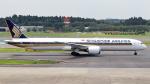 誘喜さんが、成田国際空港で撮影したシンガポール航空 787-10の航空フォト(写真)