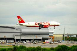 まいけるさんが、スワンナプーム国際空港で撮影したキングフィッシャー航空 A320-232の航空フォト(飛行機 写真・画像)