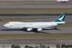 taka777さんが、香港国際空港で撮影したキャセイパシフィック航空 747-467F/ER/SCDの航空フォト(写真)