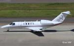 RINA-200さんが、中部国際空港で撮影した国土交通省 航空局 525C Citation CJ4の航空フォト(写真)