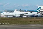 Tomo-Papaさんが、成田国際空港で撮影したキャセイパシフィック航空 A330-343Xの航空フォト(写真)