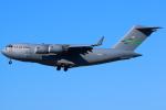 Toaruさんが、烏山空軍基地で撮影したアメリカ空軍 C-17A Globemaster IIIの航空フォト(写真)