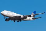 Toaruさんが、仁川国際空港で撮影したユナイテッド航空 747-422の航空フォト(写真)