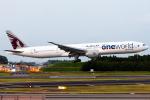 Toaruさんが、成田国際空港で撮影したカタール航空 777-3DZ/ERの航空フォト(写真)