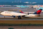 Toaruさんが、仁川国際空港で撮影したデルタ航空 747-451の航空フォト(写真)