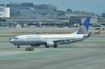 amagoさんが、サンフランシスコ国際空港で撮影したユナイテッド航空 737-824の航空フォト(写真)